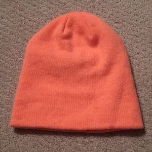 Orange Beanie from H&M
